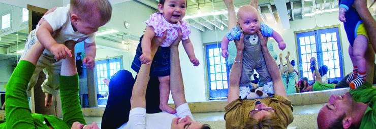 Register for summer early childhood classes from babies on up.