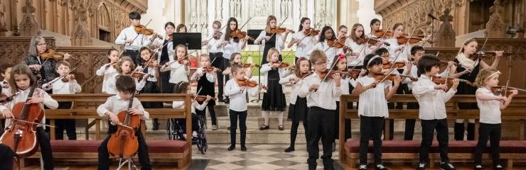 Suzuki Violin and Cello Performance