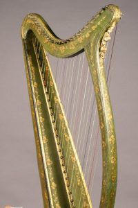 Celtic irish harp